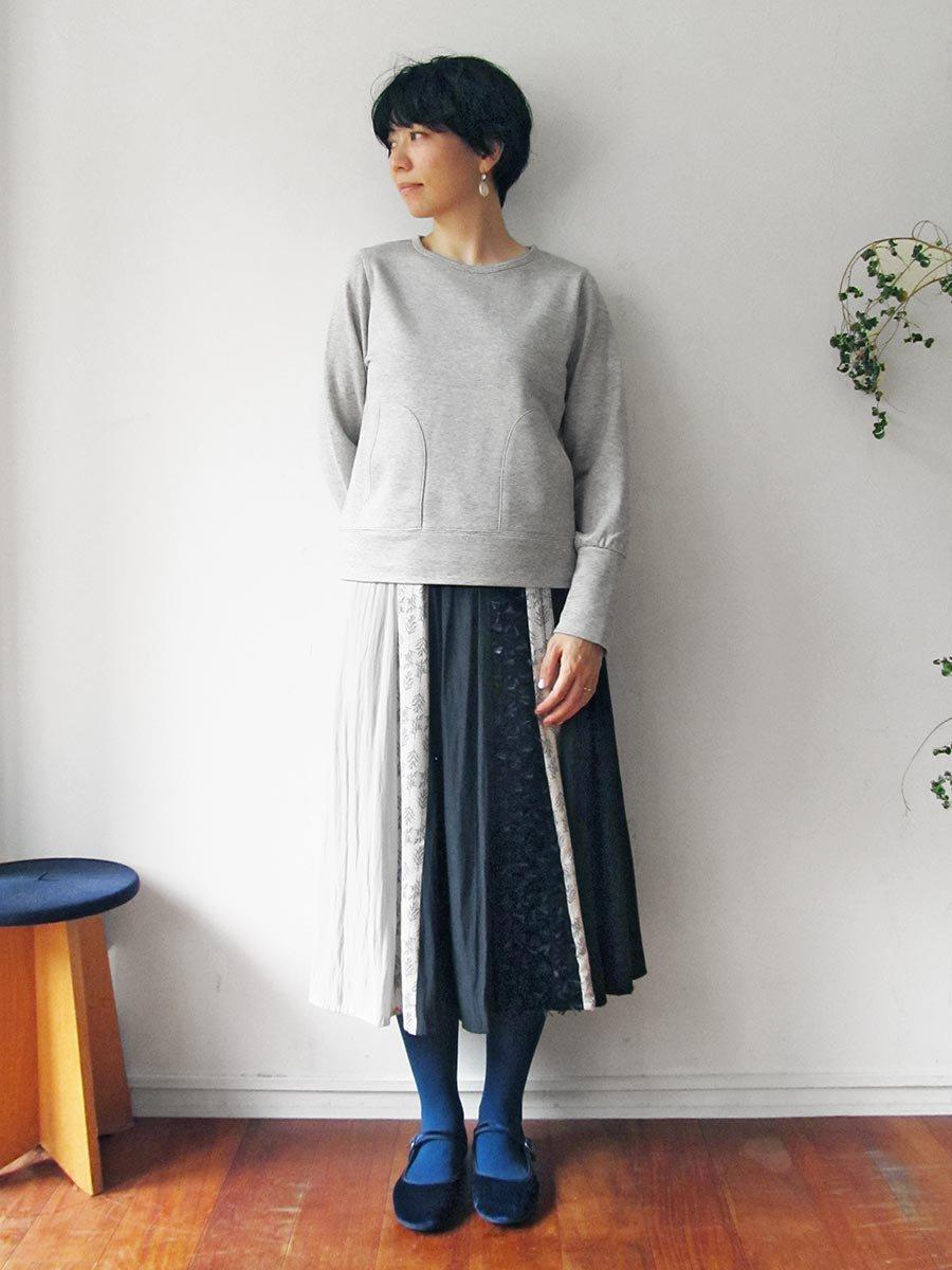 ボールチェーン刺繍スウェット(2021 Pre-Spring Collection) 15
