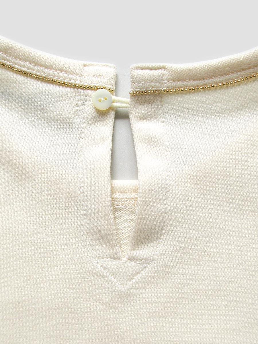 ボールチェーン刺繍スウェット(2021 Pre-Spring Collection) 5