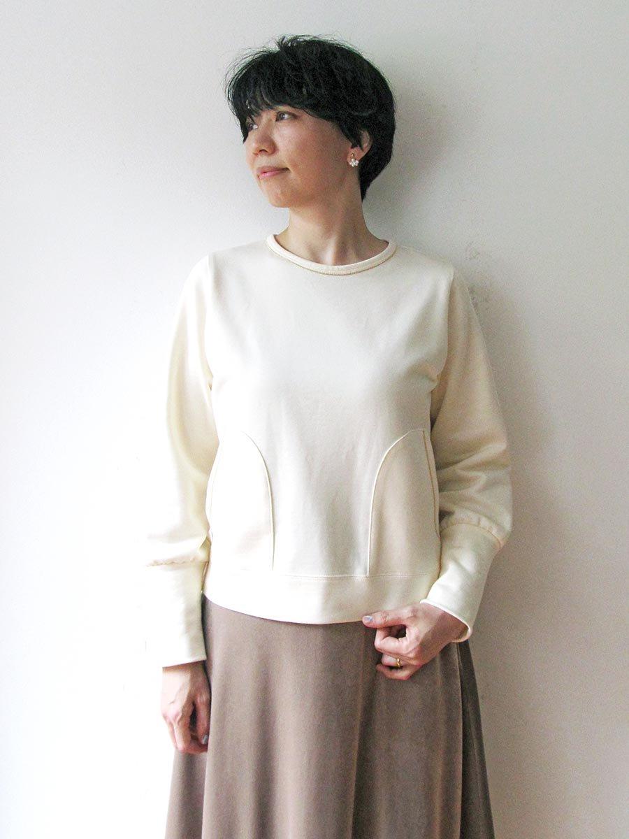 ボールチェーン刺繍スウェット(2021 Pre-Spring Collection) 9
