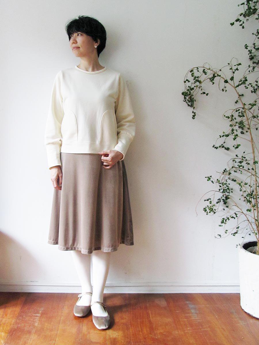 ボールチェーン刺繍スウェット(2021 Pre-Spring Collection) 10