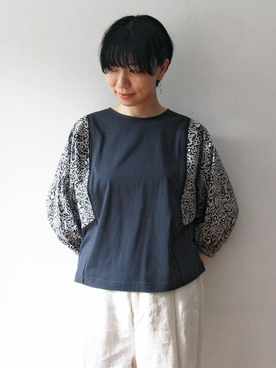 LIBERTY PRINTドルマンスリーブプルオーバー(2021 Spring Collection) 7