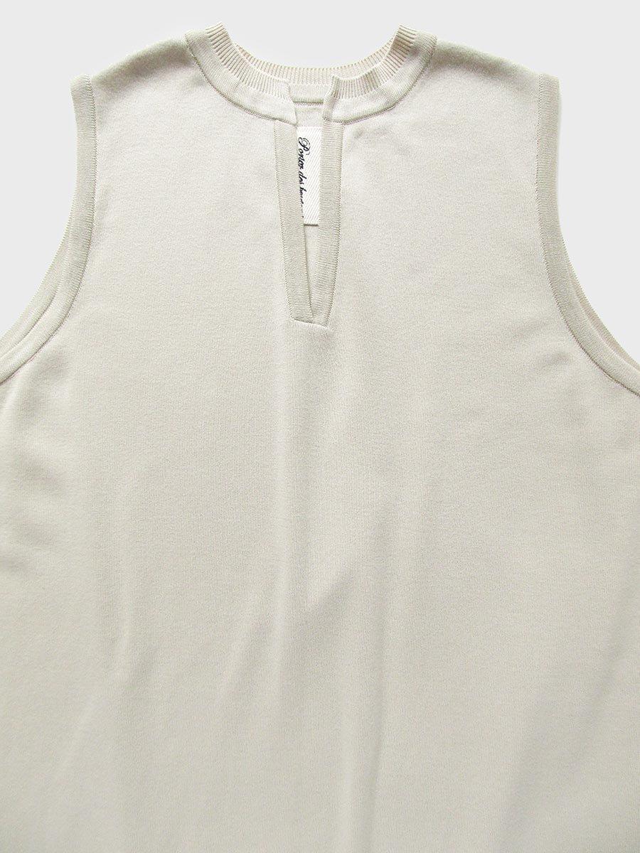 バックスリットニットドレス(2021 Spring Collection) 3