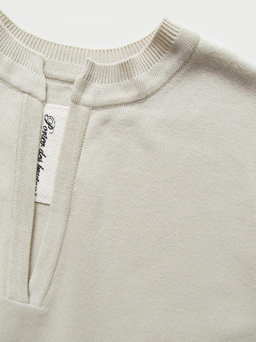 バックスリットニットドレス(2021 Spring Collection) 5