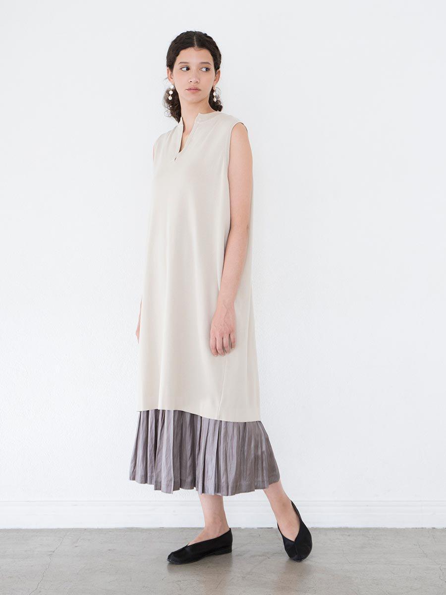 バックスリットニットドレス(2021 Spring Collection) 8