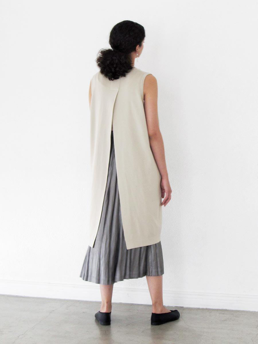 バックスリットニットドレス(2021 Spring Collection) 9