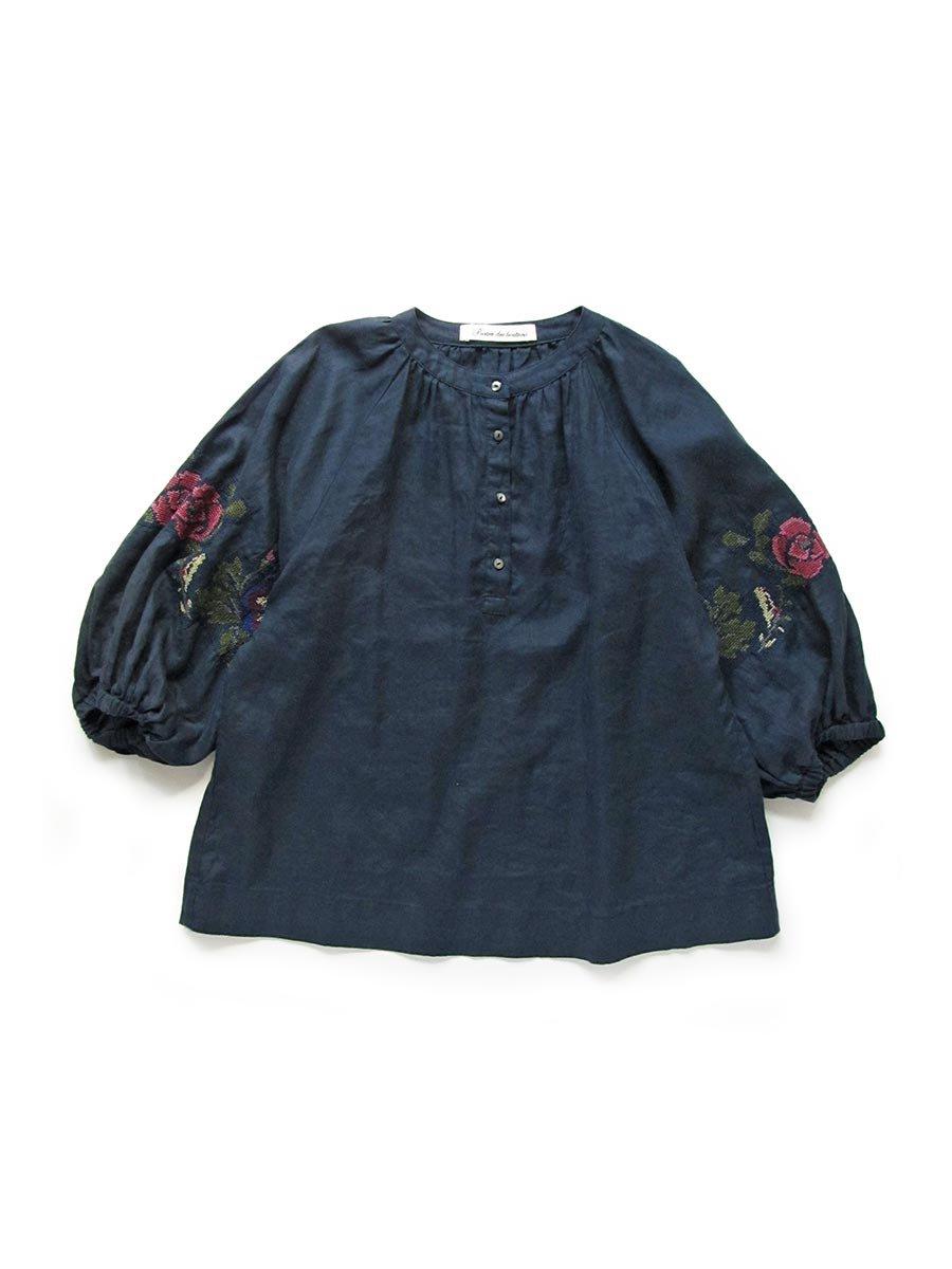 """""""花と鳥""""刺繍ブラウス(2021 Spring Collection) 14"""