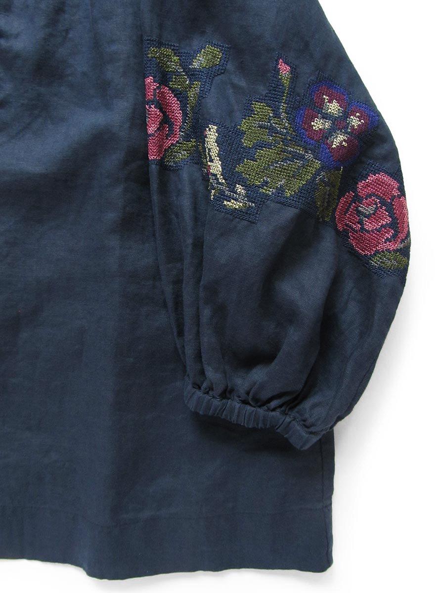 """""""花と鳥""""刺繍ブラウス(2021 Spring Collection) 16"""