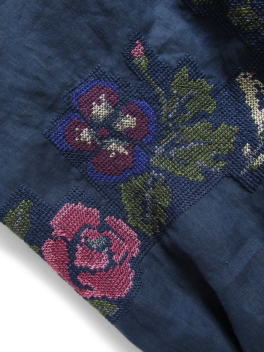 """""""花と鳥""""刺繍ブラウス(2021 Spring Collection) 17"""