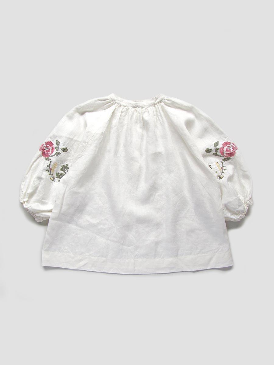 """""""花と鳥""""刺繍ブラウス(2021 Spring Collection) 3"""