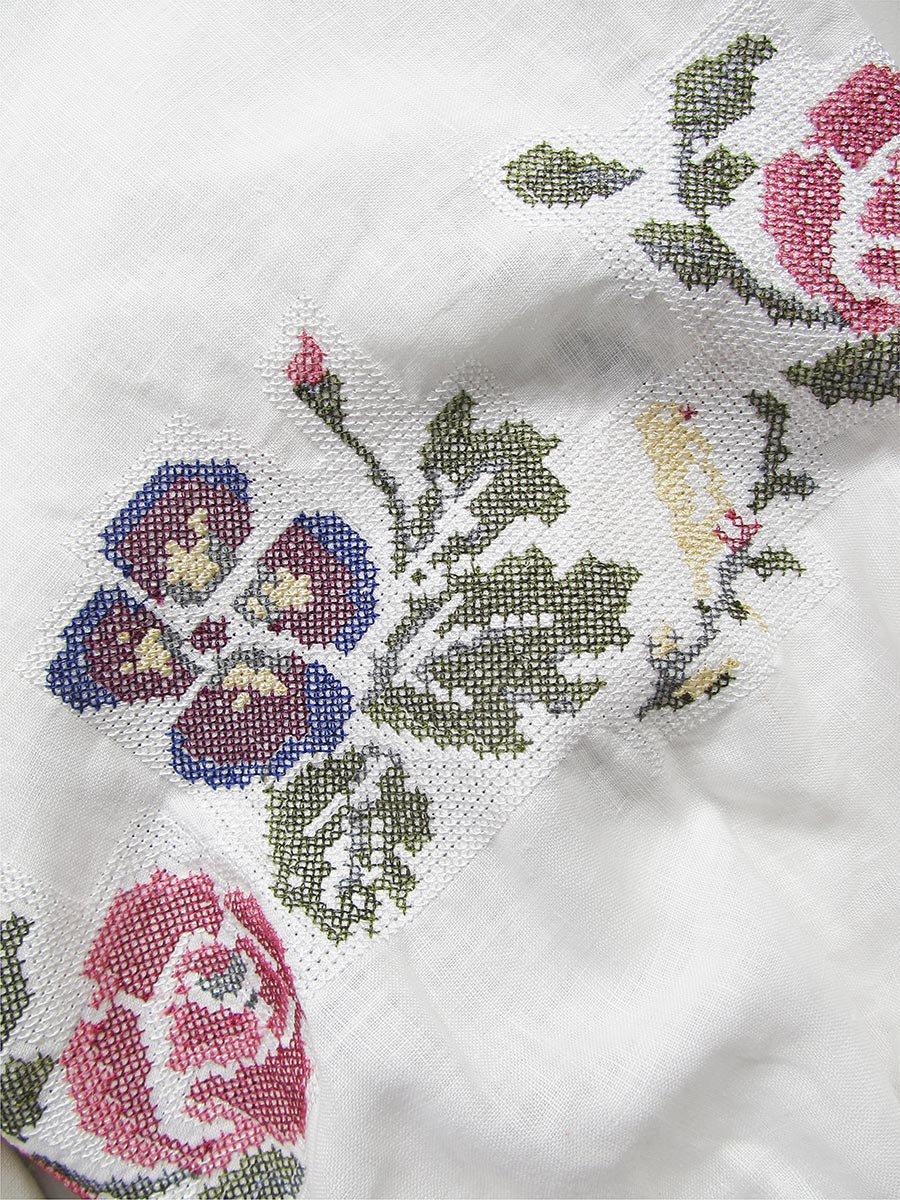 """""""花と鳥""""刺繍ブラウス(2021 Spring Collection) 5"""