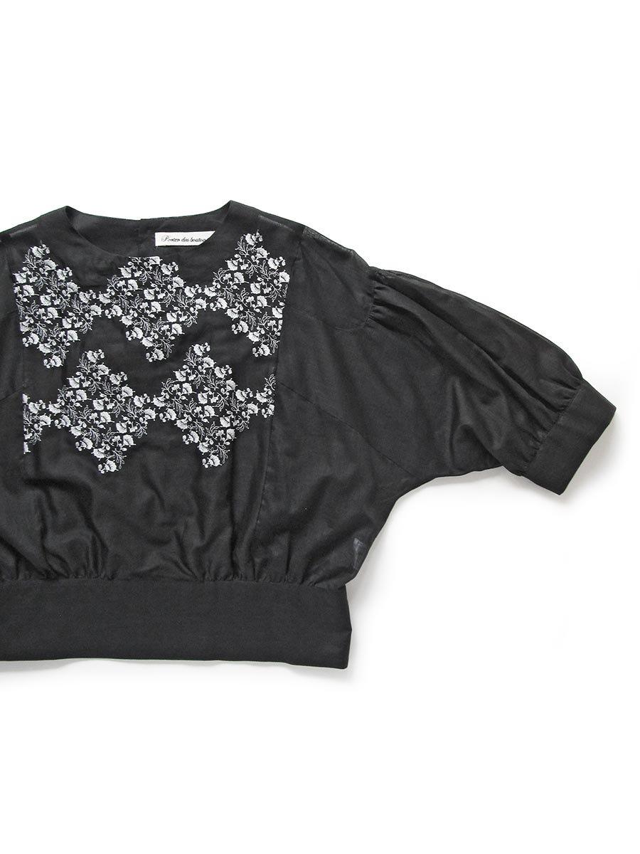 プチフルール刺繍ブラウス(2021 Spring Collection) 3