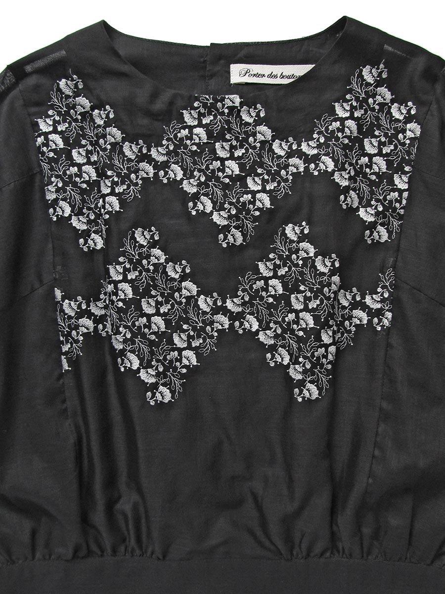 プチフルール刺繍ブラウス(2021 Spring Collection) 4
