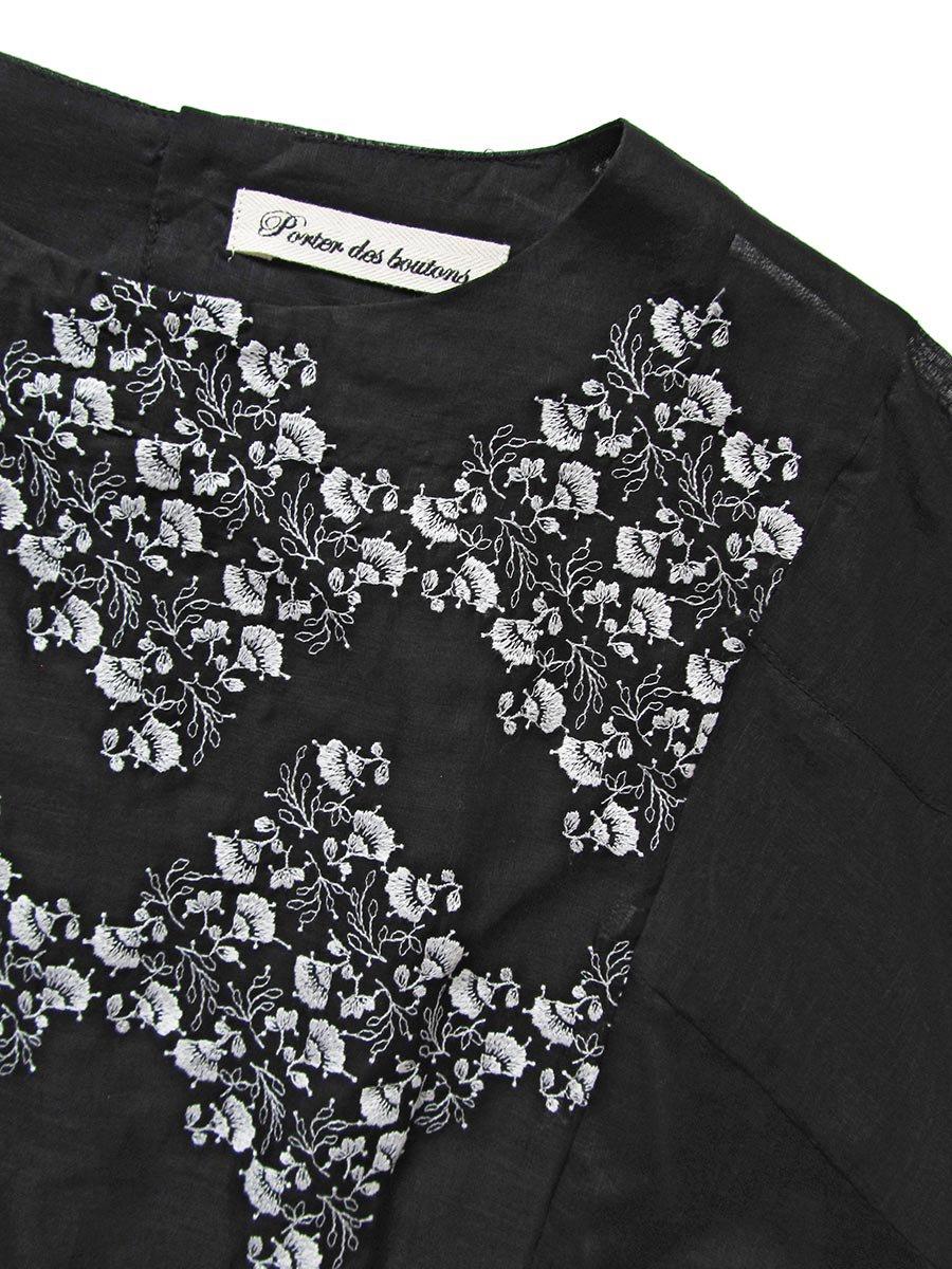 プチフルール刺繍ブラウス(2021 Spring Collection) 6