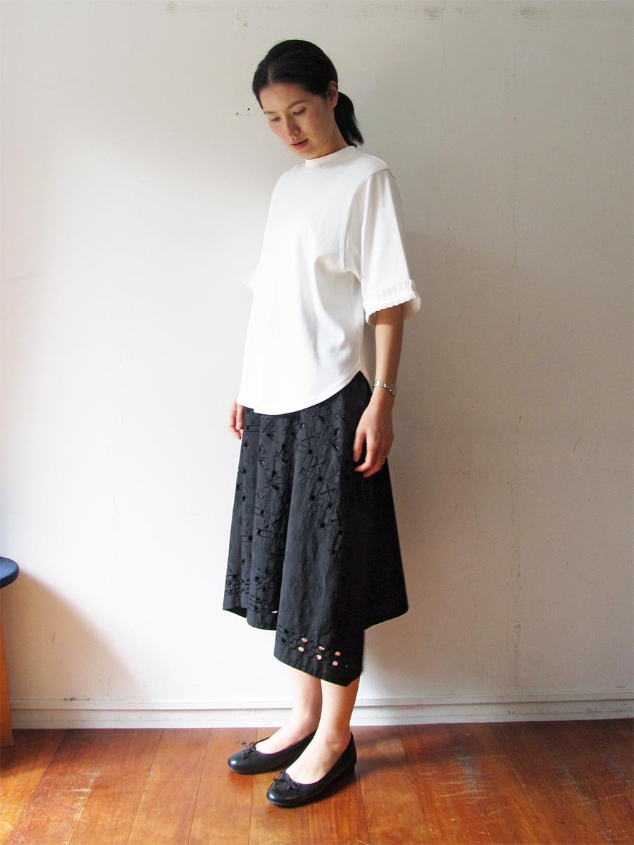 タックリボンTシャツ(2021 Spring Collection) 9