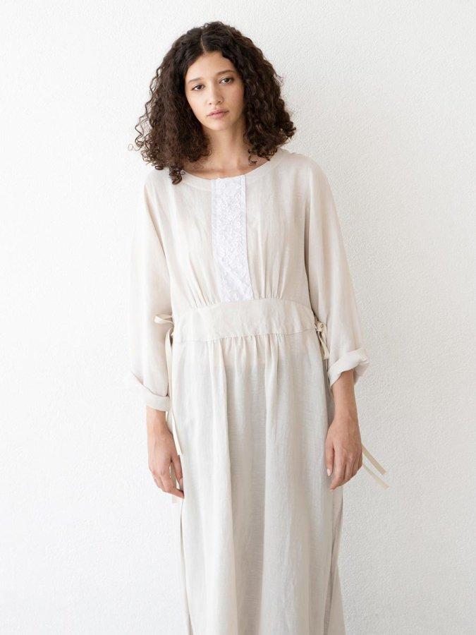 プチフルールサイドスリットドレス(2021 Spring Collection) 1