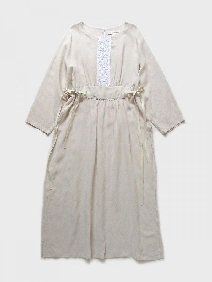 プチフルールサイドスリットドレス(2021 Spring Collection) 2