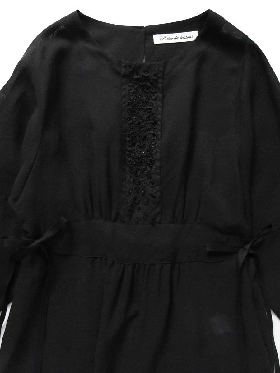 プチフルールサイドスリットドレス(2021 Spring Collection) 14