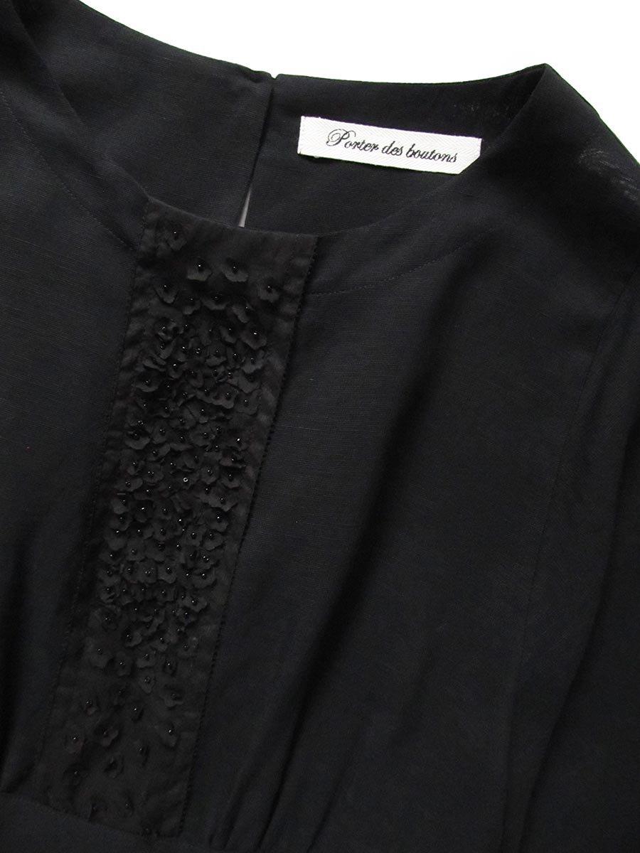 プチフルールサイドスリットドレス(2021 Spring Collection) 15