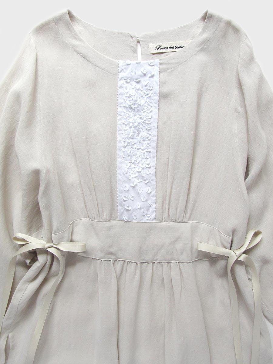 プチフルールサイドスリットドレス(2021 Spring Collection) 4