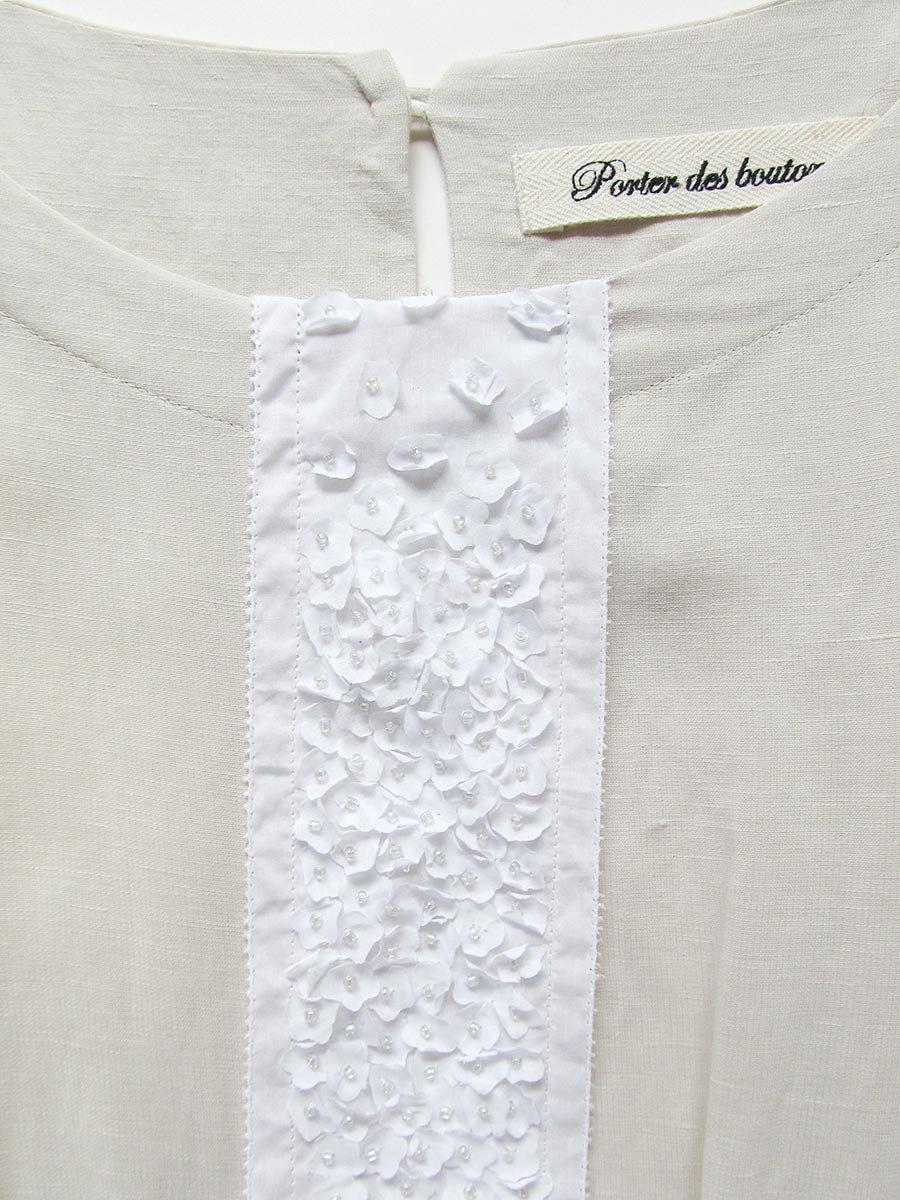 プチフルールサイドスリットドレス(2021 Spring Collection) 6