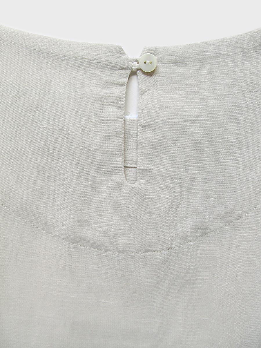 プチフルールサイドスリットドレス(2021 Spring Collection) 7