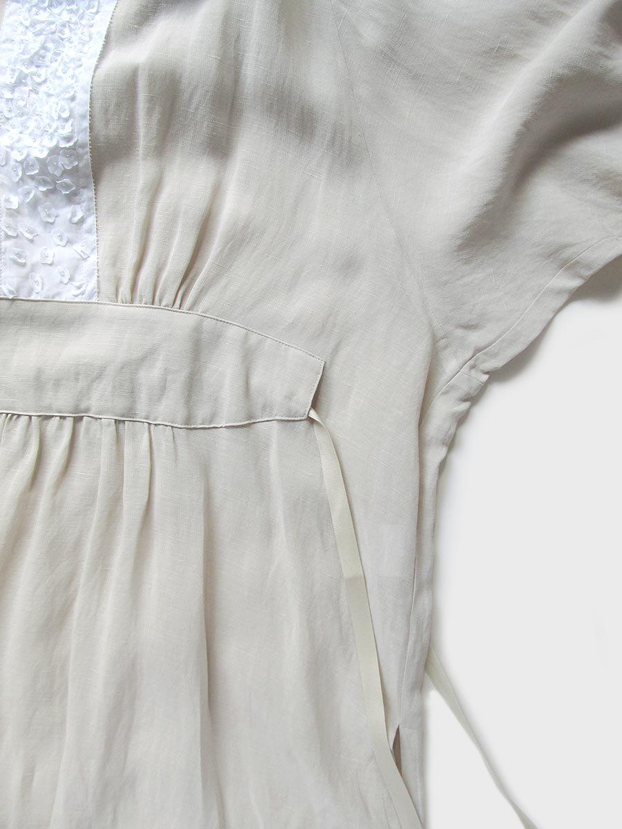 プチフルールサイドスリットドレス(2021 Spring Collection) 9