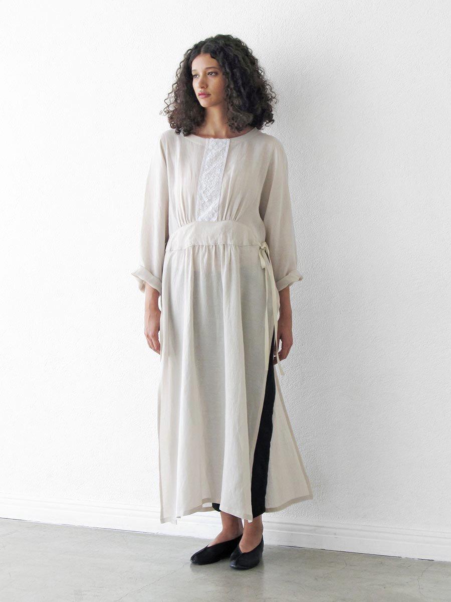 プチフルールサイドスリットドレス(2021 Spring Collection) 10