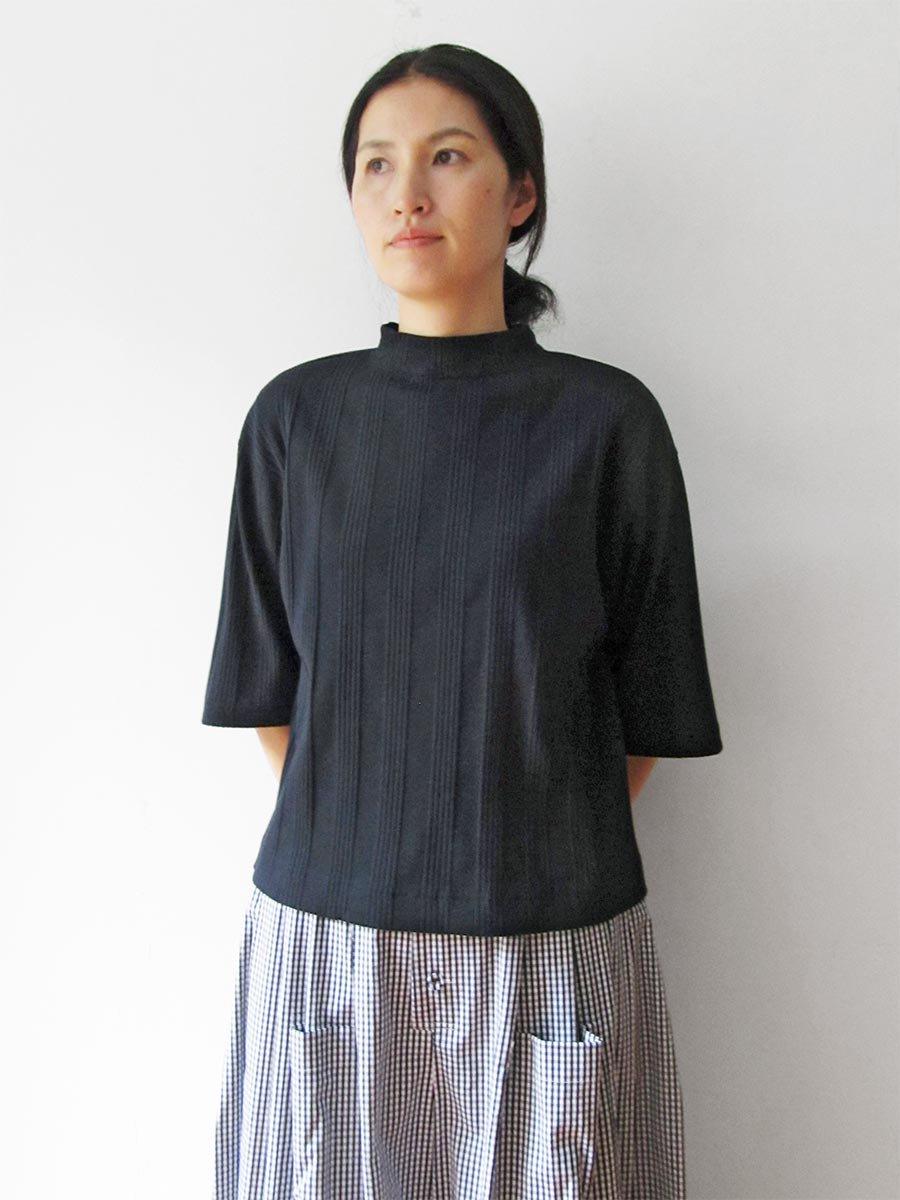 6分袖モックネックテレコプルオーバー(2021 Spring Collection) 18