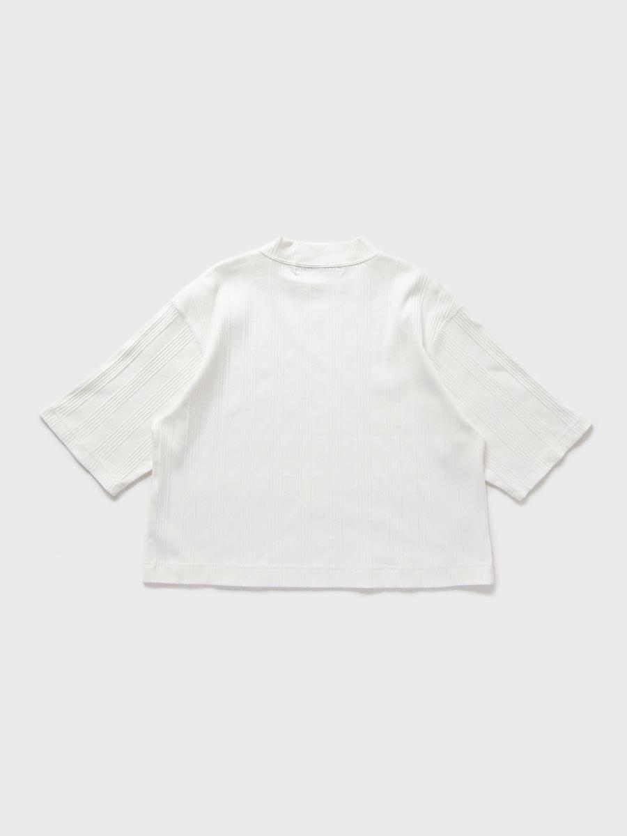 6分袖モックネックテレコプルオーバー(2021 Spring Collection) 3