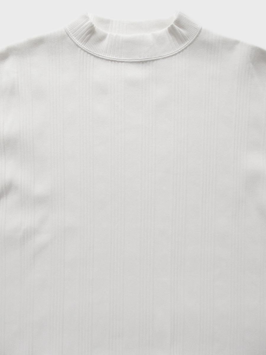 6分袖モックネックテレコプルオーバー(2021 Spring Collection) 4