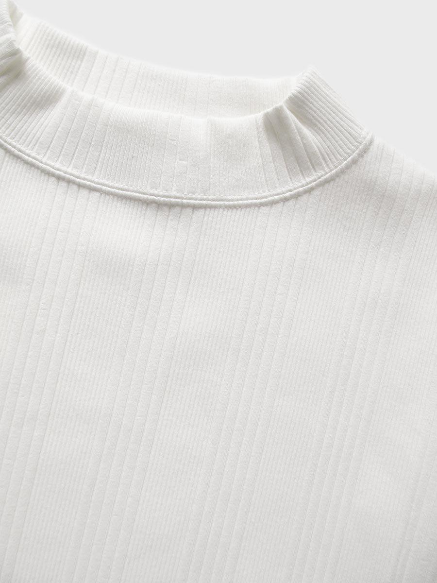 6分袖モックネックテレコプルオーバー(2021 Spring Collection) 6