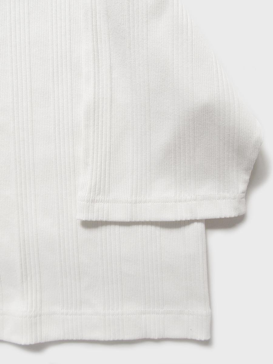 6分袖モックネックテレコプルオーバー(2021 Spring Collection) 7