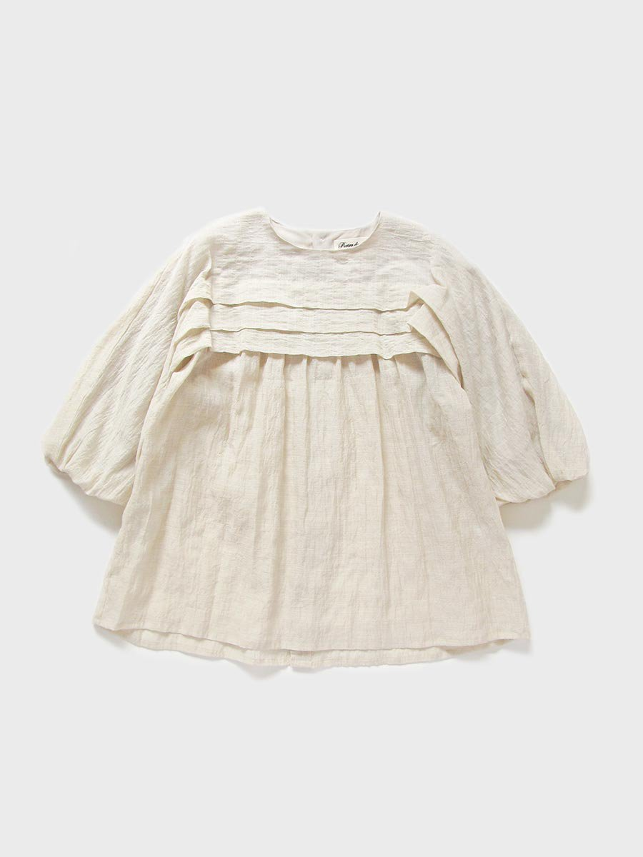 タックバルーンスリーブブラウス(2021 Spring Collection) 13