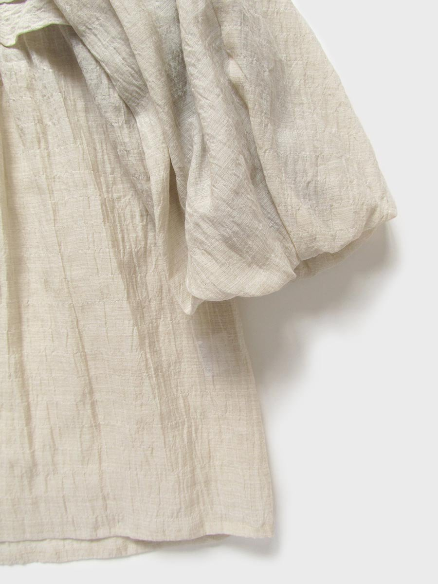 タックバルーンスリーブブラウス(2021 Spring Collection) 15