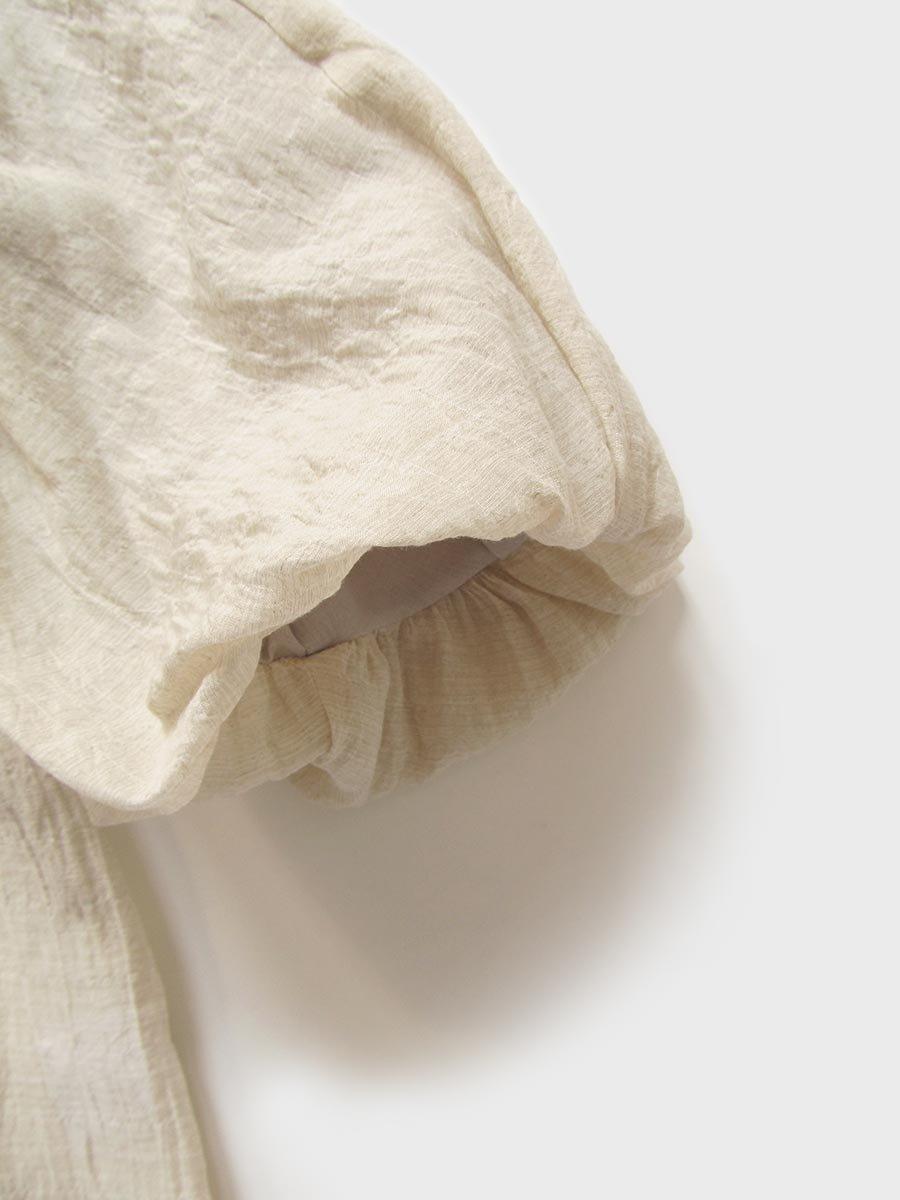 タックバルーンスリーブブラウス(2021 Spring Collection) 16