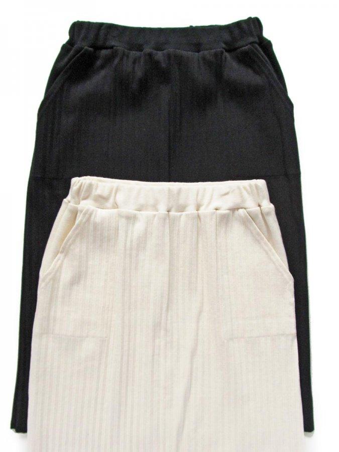 リブプリーツスカートセット(2021 Summer Collection) 1