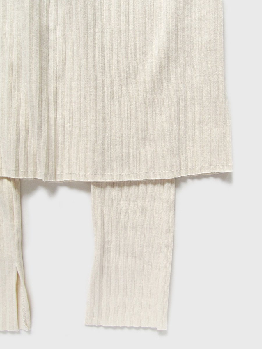 リブプリーツスカートセット(2021 Summer Collection) 12