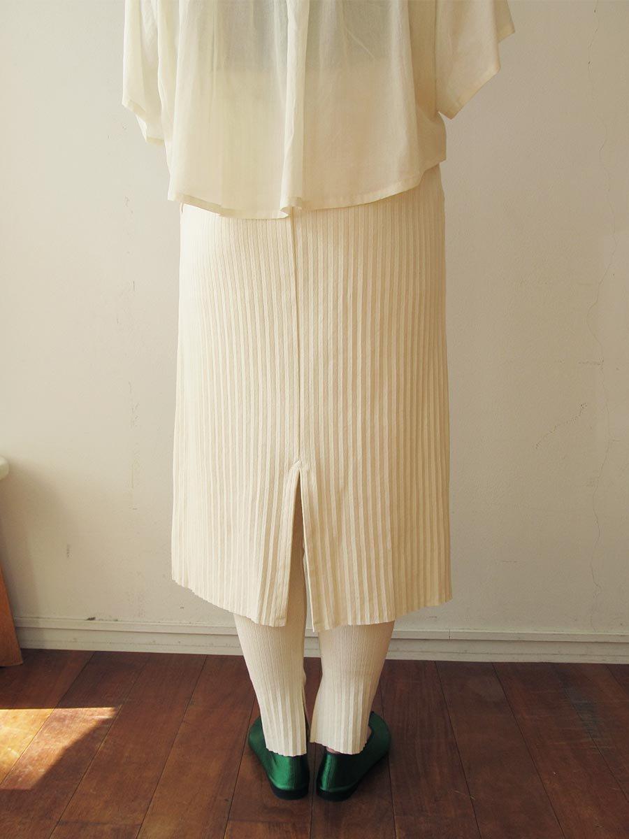 リブプリーツスカートセット(2021 Summer Collection) 19