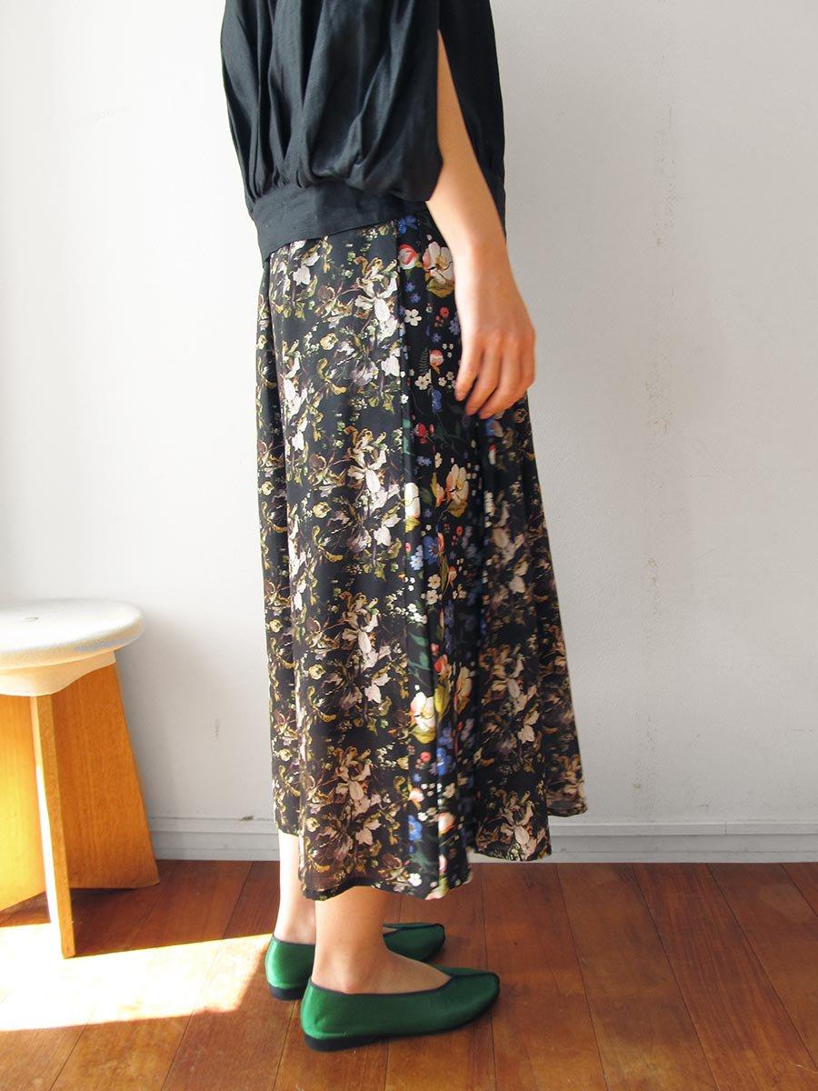 LIBERTY PRINTサイドタックスカート(2021 Summer Collection) 8