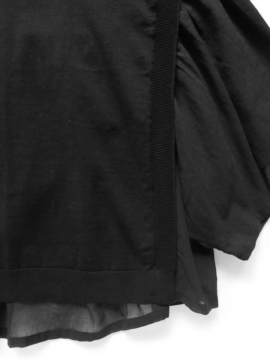 ニット×コットンシフォンプルオーバー(2021 Summer Collection) 5