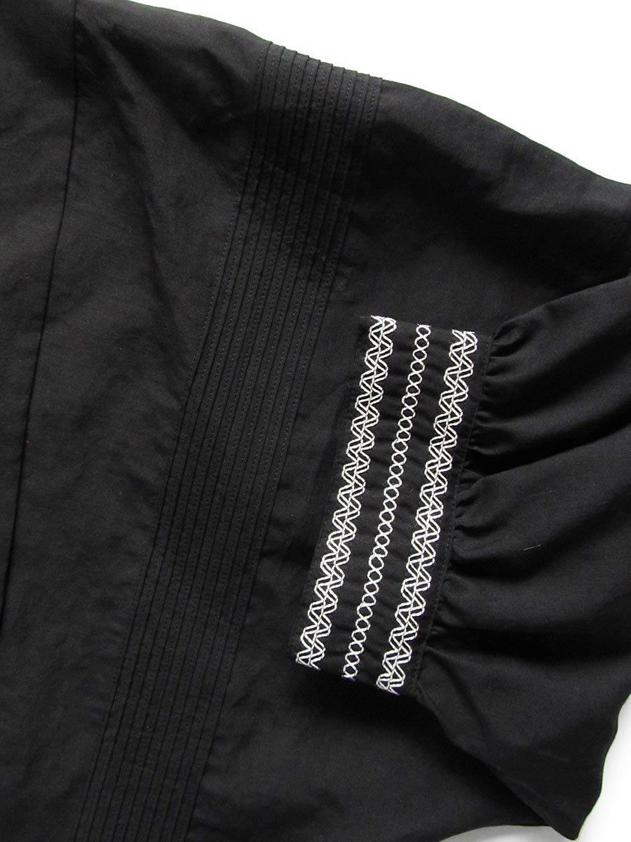 ピンタック×刺繍プルオーバー(2021 Summer Collection) 13