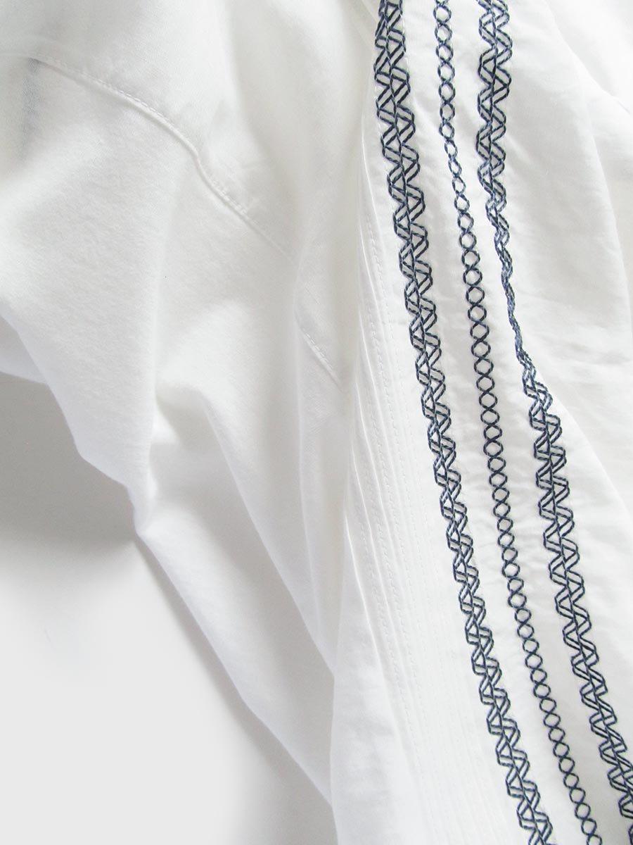ピンタック×刺繍ブラウス(2021 Summer Collection) 4