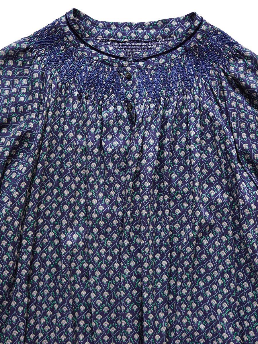 LIBERTY PRINTスモッキング刺繍ドレス(2021-22 Autumn Winter Collection) 14