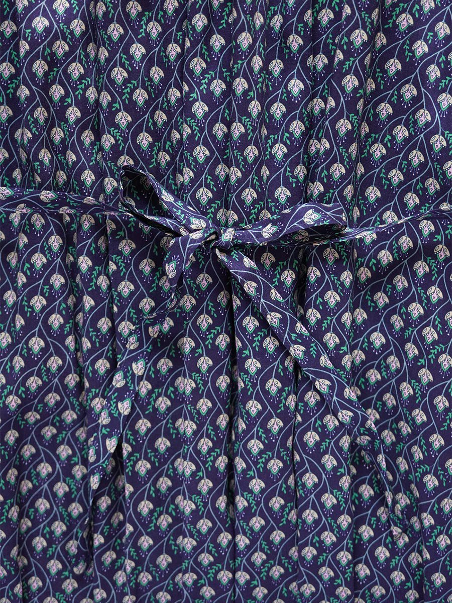 LIBERTY PRINTスモッキング刺繍ドレス(2021-22 Autumn Winter Collection) 18