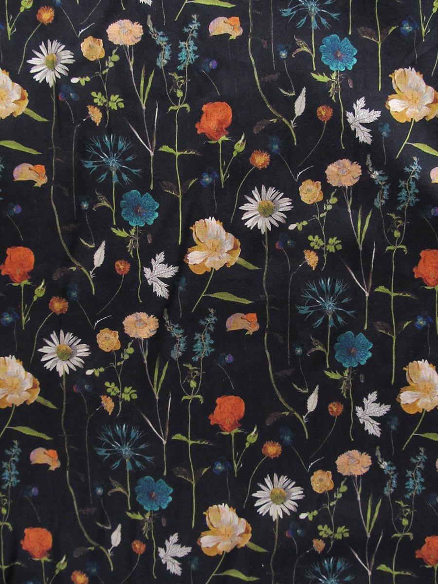 LIBERTY PRINTスモッキング刺繍ドレス(2021-22 Autumn Winter Collection) 9