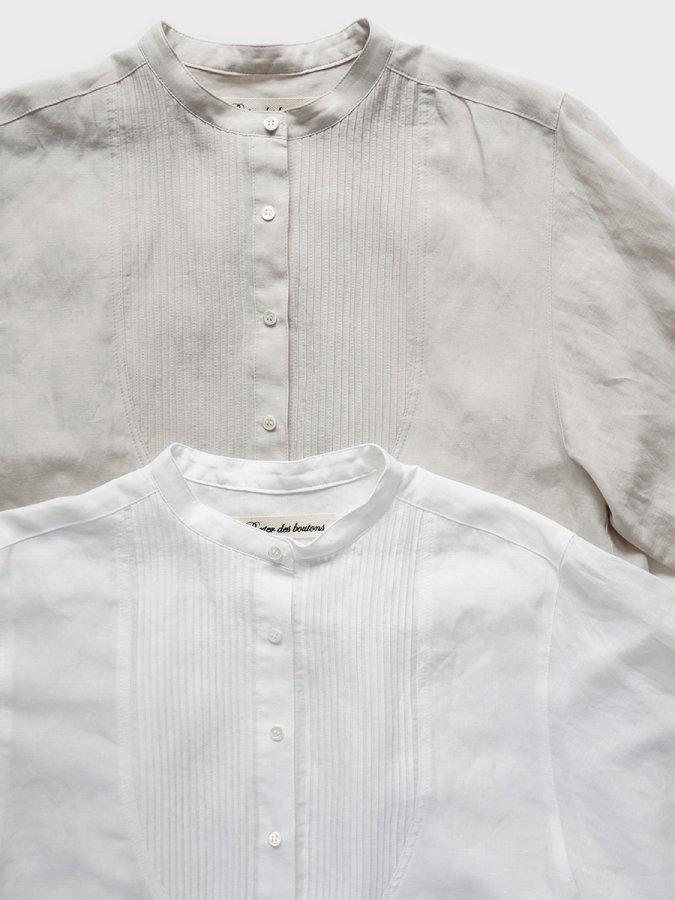 ピンタックシャツ(2021-22 Autumn Winter Collection) 1