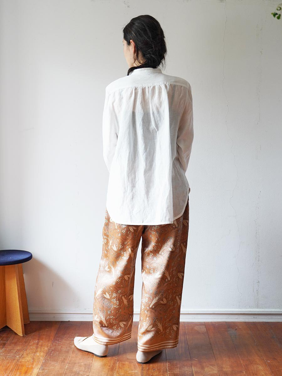 ピンタックシャツ(2021-22 Autumn Winter Collection) 10