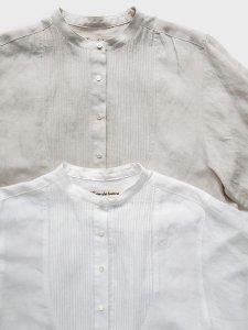 ピンタックシャツ(2021-22 Autumn Winter Collection)