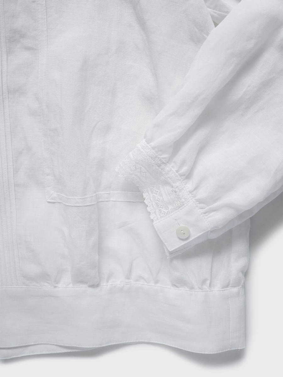 レースカラーブラウス(2021-22 Autumn Winter Collection) 15