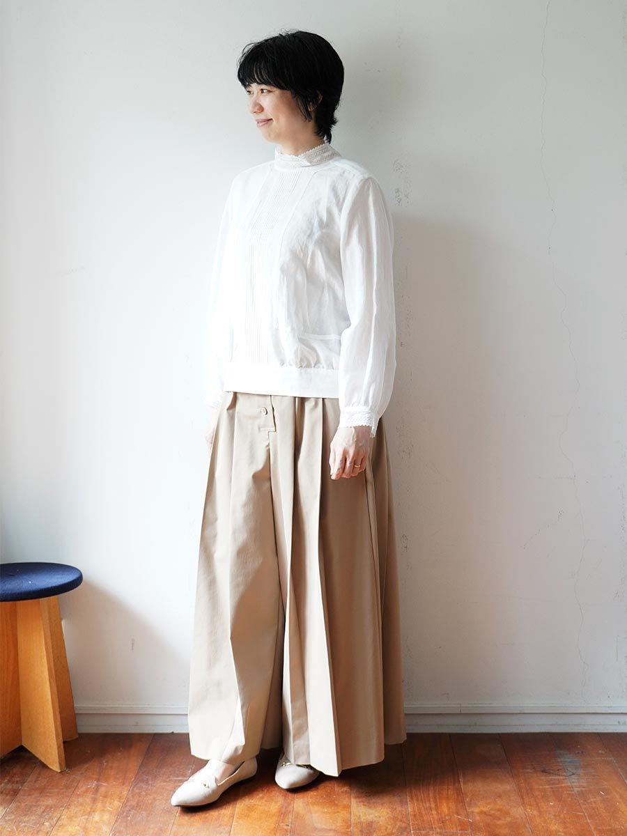 レースカラーブラウス(2021-22 Autumn Winter Collection) 17